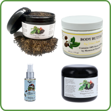 Mountain Thunder body products