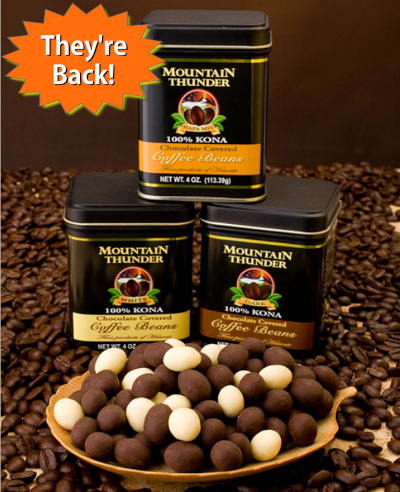Chocolate Coffee Beans are back